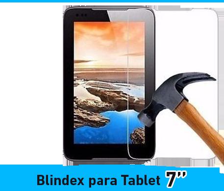 VIDRIO TEMPLADO PARA TABLET DE 7''