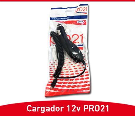 CARGADOR PRO21 12V A MICROUSB - Paris Distribuciones