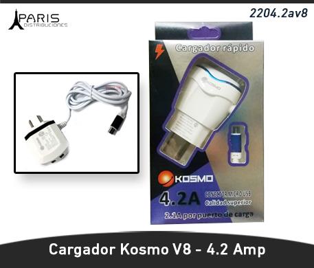 CARGADOR KOSMO 4.2 AMPER V8