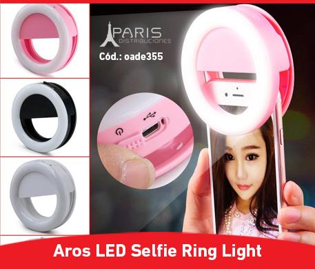 Aro led selfie Paris Distribuciones